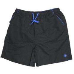 ESPIONAGE Plain Swim Short BLACK