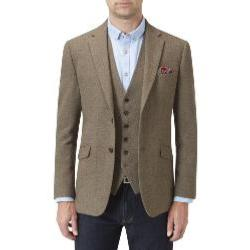 SKOPES Wool Blend Check Jacket SAGE SWILKIN
