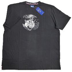 NEW - METAPHOR TIGER PRINTED T-SHIRT BLACK 3 - 8XL