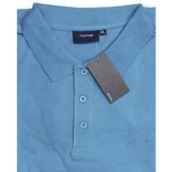 SALE - ESPIONAGE Pure Cotton  Pique Polo  TURQUOISE 5 - 8XL