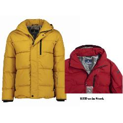 "REDPOINT INSULATED OUTDOOR COAT WITH REMOVABLE HOOD ELIOT RED 52 - 58"" CHEST"