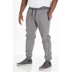 SALE - D555 COTTON BLEND SLUB WOVEN CUFFED JOGGER DENZEL NAVY 3 - 4XL