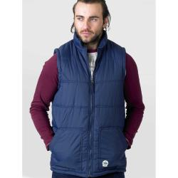 NEW STOCK - D555 LIGHTWEIGHT PADDED WAISTCOAT WITH TWIN LOWER POCKETS NAVY  3 - 8XL