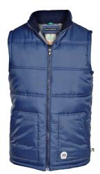 D555 Padded Waistcoat with twin lower pockets BLACK and NAVY 3 - 5XL