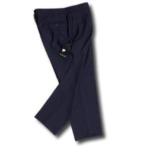 HUGO JAMES Classic Business Suit TROUSERS NAVY