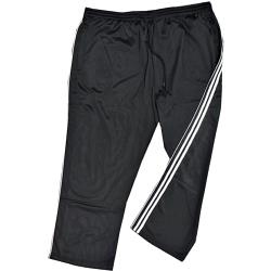 ESPIONAGE Sports Tracksuit Pants BLACK Striped 2XL REGULAR
