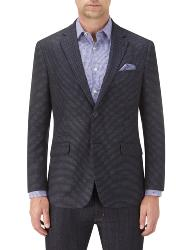SKOPES  CONTEMPORARY COLLECTION PIN DOT  FASHION BLAZER NAVY ALLERTON