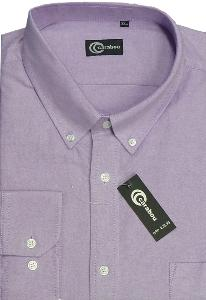 CARABOU  Long Sleeve Oxford Shirt  LAVENDER