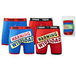 D555 Novelty Two pack Cotton Boxers shorts WIDE LOAD