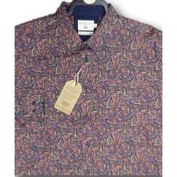 SALE - BAR HARBOUR  Long Sleeve Paisley Print shirt  3 - 5XL