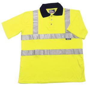 ESSENTIAL BROOKLYN POLO SHIRT HI-VIS 3XL