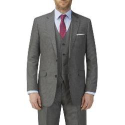 SKOPES HAIRLINE STRIPE SUIT JACKET GREY PEDLEY