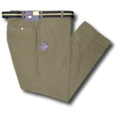 OAKMAN Casual Cotton Twill Soft touch Chino KHAKI