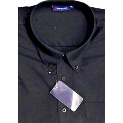 ESPIONAGE Cotton rich Short Sleeve shirt BLACK