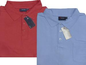 ESPIONAGE  Pique Polo Shirt -  RED  8XL