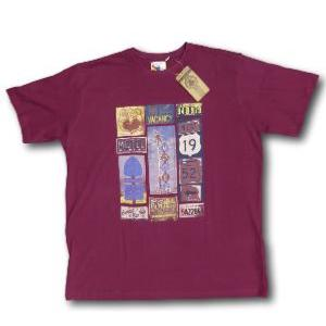 ESPIONAGE Apparel Cotton Tee MOTEL BURGUNDY 2XL