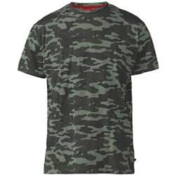 D555 Camouflage Print Tee Shirt JUNGLE