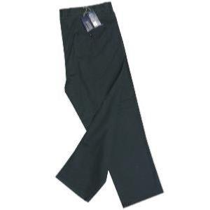 ED BAXTER Flat Front Chino with comfort FLEX waistband DARK NAVY