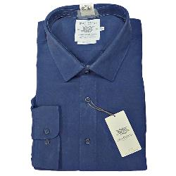 BAR HARBOUR SOFT TOUCH POLYMODAL SHIRT BLUE