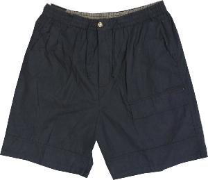 METAPHOR Summer Cotton Cargo shorts with Comfort Stretch waist NAVY