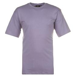 ESPIONAGE PURE COTTON CREW NECK TEE SHIRT LILAC 2 - 8XL