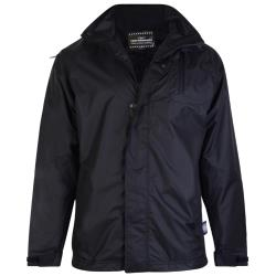 KAM WATERPROOF  JACKET BLACK