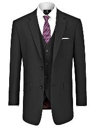 "SKOPES DARWIN CLASSIC SUIT  JACKET  BLACK 50 - 72"" SHORT AND REGULAR"