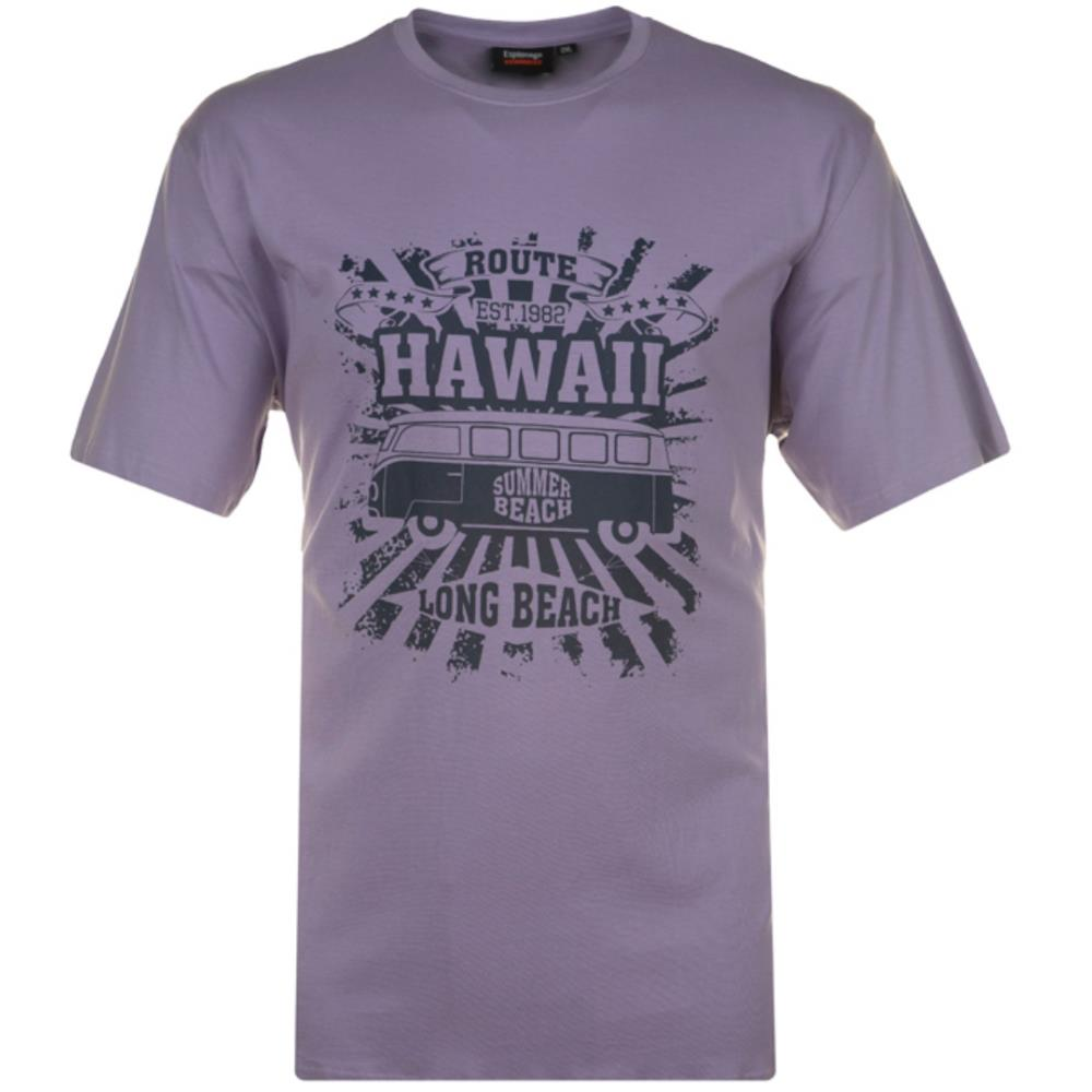 Espionage Long Beach Print T-Shirt