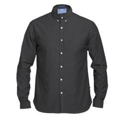 D555 KINGSIZE LONG SLEEVE  BUTTON DOWN STRETCH SHIRT NEBRASKA DARK NAVY 3 - 8XL