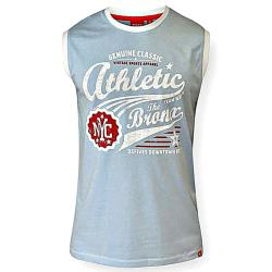 D555 Athletic Print Sleeveless T-Shirt JOVAN SKY 4 XL