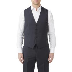 "SKOPES COMMUTER SUIT WAISTCOAT FARNHAM NAVY 50 - 70"" CHEST"