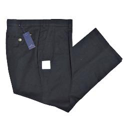 OAKMAN PEACH COTTON CHINOS BLACK