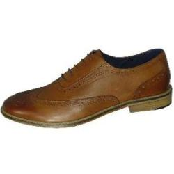POD - PAUL O'DONNELL Finest Leather Brogue lace up  DALLAS TAN