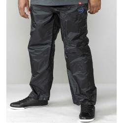 D555 King Size  PACKAWAY WATERPROOF BREATHABLE  OVER TROUSERS ELBA  BLACK 3 - 6XL