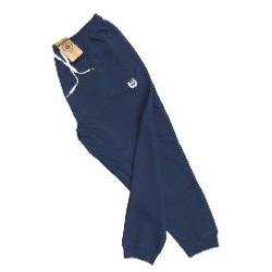 ESPIONAGE WAFFLE COTTON STRETCH JOGGER NAVY