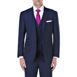 "SKOPES CONTEMPORARY TAILORED SUIT JACKET BLUE JOSS 52-72"" S/R"