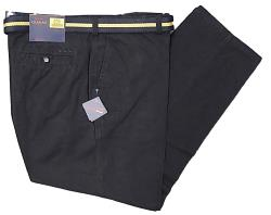 OAKMAN Casual Cotton Twill Soft touch Chino NAVY