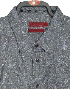 BAR HARBOUR Paisley Print shirt 4XL