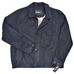 CABANO Soft touch Suede style Blouson Jacket NAVY