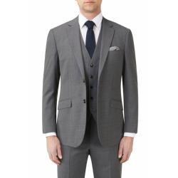 "SKOPES FARNHAM COMMUTER SUIT JACKET GREY 50 - 70"" CHEST"
