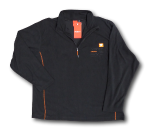 NORTH 56'4 SPORT  Fleece Sweat Top ARCTIC TRACK BLACK