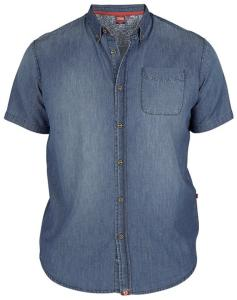 DUKE D555 Denim Vintage Wash Shirt LIBERTY
