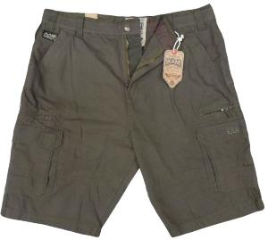KAM Tough Cotton Cargo Shorts  KHAKI