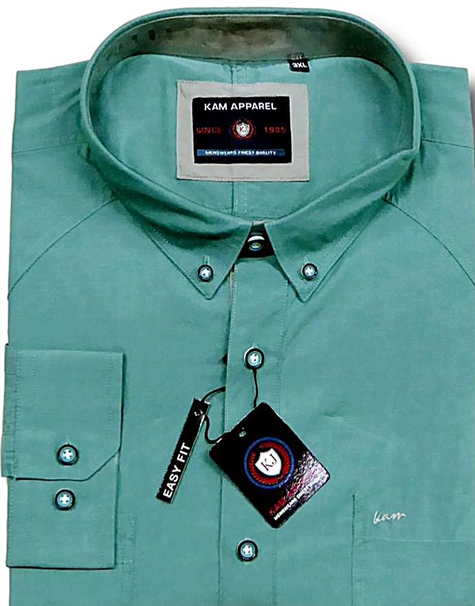d04538980 big mens Kam cotton shirt - bigmenonline - large mens clothing