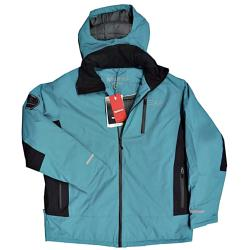 NORTH 56'4 Performance Ski Jacket 3000MM Waterproof JADE/NAVY 3 - 8XL