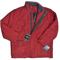 SAXON Lightly Quilted Showerproof Jacket LINCOLN RED 3XL