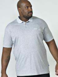 D555  PURE COTTON  POLO WITH ALL OVER PRINT AND CHEST POCKET ELIJAH 6XL